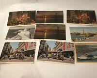 Vintage Post Cards San Francisco California ( 9 )