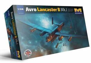 Hong Kong Models 1:48 Avro Lancaster B Mk I Aircraft Model 01F005 DAMAGED BOX