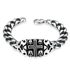 Inches 11Mm Lobster L437 Stainless Steel Bracelet 7