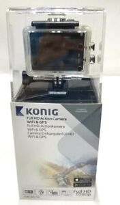 Konig 1080P HD GPS Sports Camera WIFI Waterproof Action Camcorder 16MP