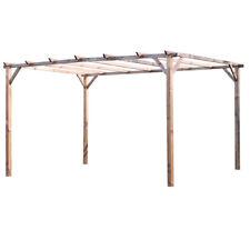 VERDELOOK Pergolato in legno impregnato 3x4m protezione e arredamento esterni