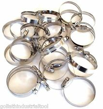 """New listing 25 Goliath Industrial Stainless Steel Hose Clamps 2"""" - 2-3/4"""" Sshc234 51-70Mm"""