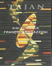 BIBLIOTHEQUE RAGAZZONI EDITIONS ORIGINALES CATALOGUE VENTE TAJAN 13/05/2003