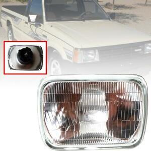 Head Light Front Lamp H4 Halogen Glass For Mazda B-Serie Bravo B2200 B2600 85-98