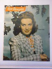"""UGE-REVYEN"" No 47/1950.Maureen O´Hara.Olivia De Havilland.Von Stroheim.Morris"