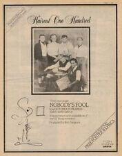 Haircut 100 Hundred LP advert 1982