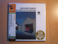"""Wes Montgomery """"down here on the ground"""" Le Japon MINI LP SHM CD"""