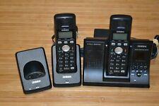 2x Uniden Tru9280 Tru9280-2 Tru9280-3 5.8 Ghz Handset Answering Machine Phone