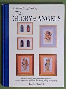 Glory of Angels book of 32 prints for framing scrapbooking art projects crafts