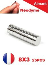 Lot 25 Aimants Puissant Neodyme N35 8 X 3 mm : Photo, Magnet, Fimo, Scrapbooking