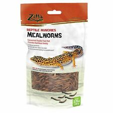 New listing Zilla Reptile Munchies Mealworms 3.75oz.