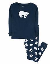 Leveret Kids Christmas Pajamas Boys Girls & Toddler Pajamas Moose Reindeer 2