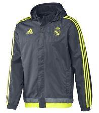 adidas Herren Real Madrid All Weather Jacket 15/16  Gr. XL - Farbe Solar Yellow