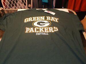 Green Bay Packers NFL  Team Apparel  shirt  XXL