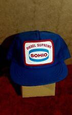 e6aeefb1dda0a Vintage SOHIO DIESEL SUPREME trucker hat snapback - made in USA gas oil  tractor
