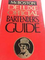 Mr. BOSTON DELUXE OFFICIAL BARTENDER'S GUIDE, 1976