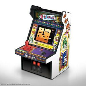 "My Arcade Dig Dug Micro Player - 6.75"" Collectible Retro Arcade Machine"