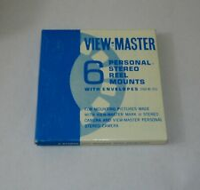View Master BLANK Reels w/ Sleeves Pack of 6   New Old Stock MINT!