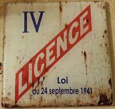 Dessous de plat licence IV - Class Déco