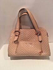 Ted Baker Satchel (Zig /Zag) Handbag Color-Blush/Light Peach Size-Medium/Large