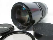 NIKON NIKKOR Al-s 200mm 1:4 TELEPHOTO LENS + Filter, Caps & Pouch