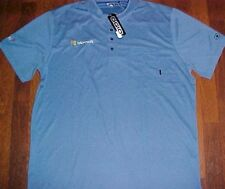 Microsoft Insight Logo OGIO Men's Blue Golf Golfer Polo Shirt XL New NWT