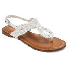 9e7fdb515ebd Womens Jana Quarter Strap Sandals - Merona - White - Multiple Sizes