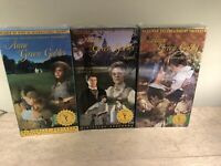 Lot Of 3 Anne of Green Gables ,Sequel ,Cont Story Digital Restored (VHS) Sealed