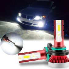 2x 9006 HB4 6000K LED Fog Light Bulbs for BMW E90 E91 E60 E61 3-Series 5-Series