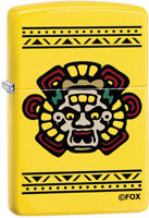 Zippo Mayans M.C. Logo Lemon Yellow Windproof Lighter 11348