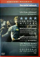 THE SOCIAL NETWORK (2010) un film di  David Fincher - DVD EX NOLEGGIO - SONY