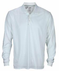 Adidas Mens ClimaCool Long Sleeve Pique Polos I Many Colors