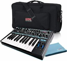 Novation Bass Station II Monophonic Analog Synthesizer Bundle with Gator Gig Bag
