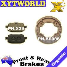Front Rear Brake Pads Shoes Yamaha YW100 YW BWS 100 BWS