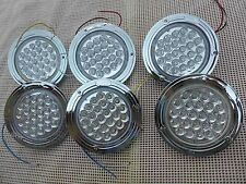 10-30V LED CLEAR 2 BLINKER 2 REVERSE N 2 STOP  TAIL LIGHTS 4 TRAILER TRUCK UTE