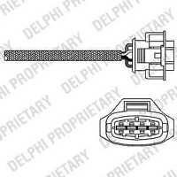 Delphi Direct Fit Lambda Oxygen Sensor ES20283-12B1 - 5 YEAR WARRANTY