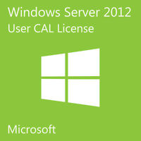 NEW MSFT Windows Server 2012 R2 + Remote Desktop Services 50 User CAL(CHEAP)