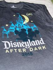 Disneyland After Dark 2018  Mickey & Minnie T-Shirt Glows in Dark Men's 3X NWT