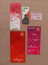 London 2012 Olympics Men's Gymnastics Final Ticket, Exclusive Pin Badge & More