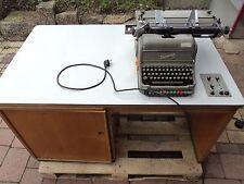 Alte Fakturiermaschine Rheinmetall Rarität Sammlerstück Schreibmaschine Antik
