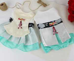 Hanbok(Korean tradtional custume) for dogs- Elegant Type(We have All Sizes)