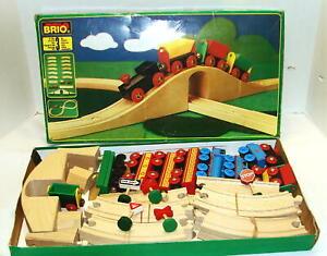 Lot of Brio Trains & Tracks & Signs & More