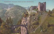 Postkarte - Tauernbahn / Gratschacher Viadukt mit Ruine Oberfalkenstein