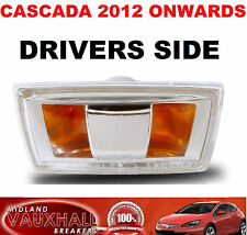 VAUXHALL CASCADA SIDE REPEATER WING INDICATOR DRIVERS OFF SIDE ELITE SE CDTI