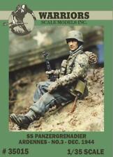 Warriors 1:35 SS Panzer Grenadier Ardennes No.3 Resin Figure Kit #35015
