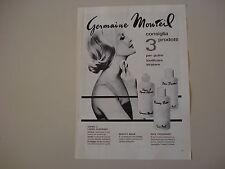advertising Pubblicità 1963 GERMAINE MONTEIL