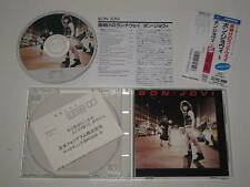 BON JOVI/BON JOVI (POLYGRAM 28PD 522) JAPAN CD+OBI