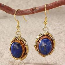 New Tara Mesa Lapis Lazuli Oval Earrings