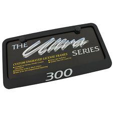 Chrysler 300 Black License Plate Frame