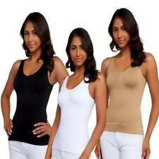 Women's Body Shaper Genie Bra ShapeWear Tank Top Slimming Camisole Spandex